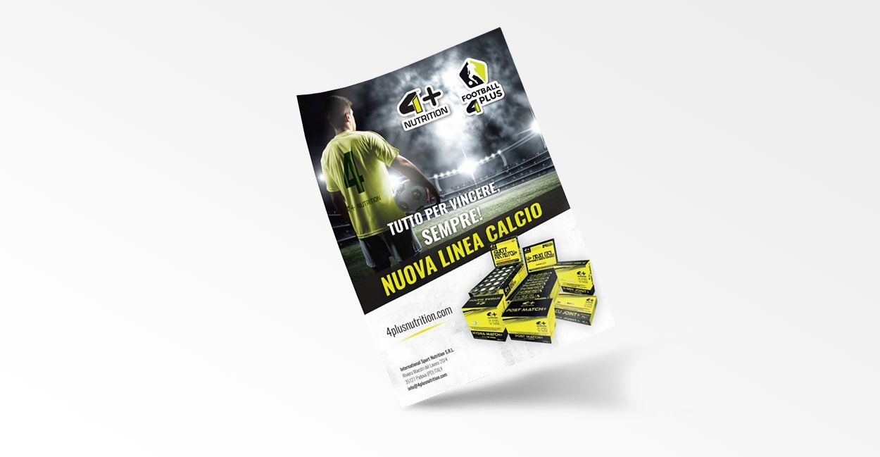 Settore Advertising per International Sport Nutrition
