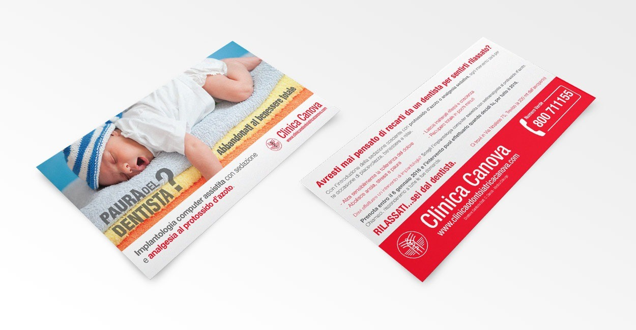 Settore Advertising per Clinica Odontoiatrica Canova